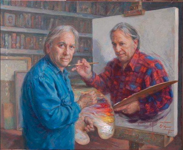 #MindBlowing A picture within the picture being painted by the painter who painted the painting where he is painting: http://t.co/RjvyiiuOqD