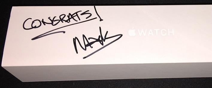 Did you enter to win the #AppleWatch? RT & follow for a chance to win! Watch signed by @CitrixCEO! #CitrixSynergy http://t.co/5zvQEh8pMN