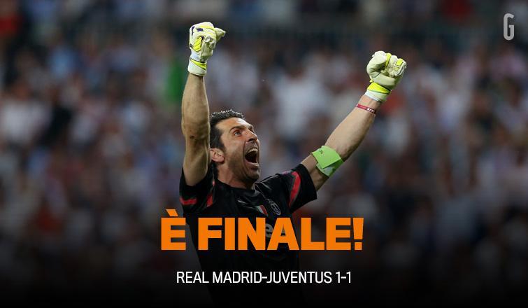 È FINALE! Adesso la #Juve va a #Berlino! Ma prima c'è lo speciale #Champions: alle 23.00 su @gazzettatv59. #RealJuve http://t.co/pIpsfxLRjb