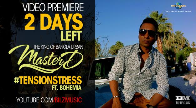 Make sure you RT this! #BanglaUrban history in the making @MasterDonline ft @iambohemia #TensionStress in 2 DAYS! http://t.co/EAv751wuPH