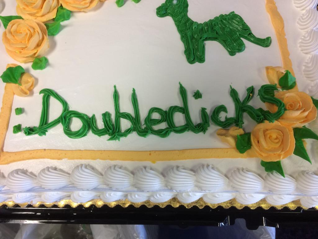 We have changed our band name according to this cake. sorry, kids. http://t.co/eYaw169yBe