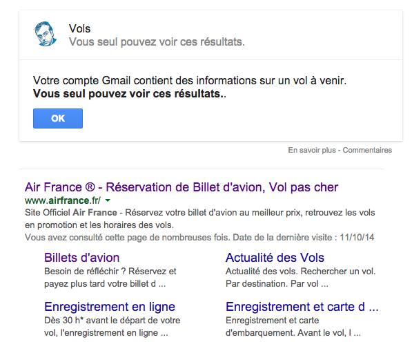 Quand la recherche Google te dit que l'info se trouve dans tes mails http://t.co/vLzgAykx6y