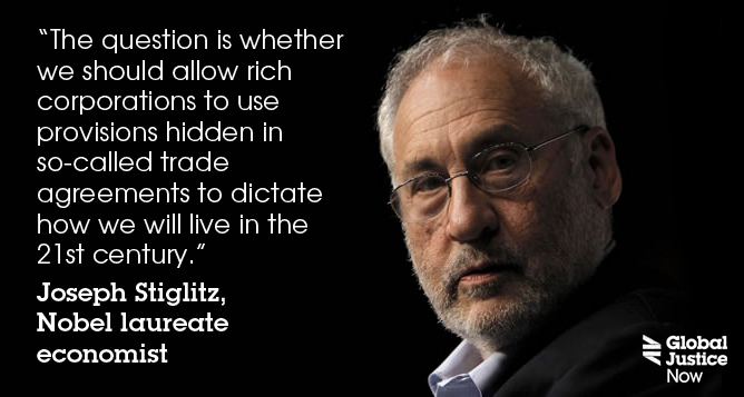 Joe Stiglitz on the secret corporate takeover of trade agreements http://t.co/HFJqn9xCdC #noTTIP #NoTPP #NoFastTrack http://t.co/s1LDsepg8X
