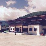 Paro airport ....#Bhutan