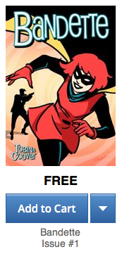 Don't forget: Bandette #1 is FREE for a little while on @comiXology! #FCBD https://t.co/Dkf4bIWVv3 http://t.co/jNYZGWnTa1