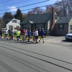 A leisurely Saturday morning jaunt for @LowellHigh runners @coachpmaia @LowellTrack #Lowell http://t.co/z9mREb1nAH