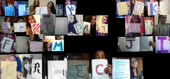 HAPPY BIRTHDAY FROM GREECE BABIES  WE LOVE YOU LOTS & WISH YOU THE BEST. x