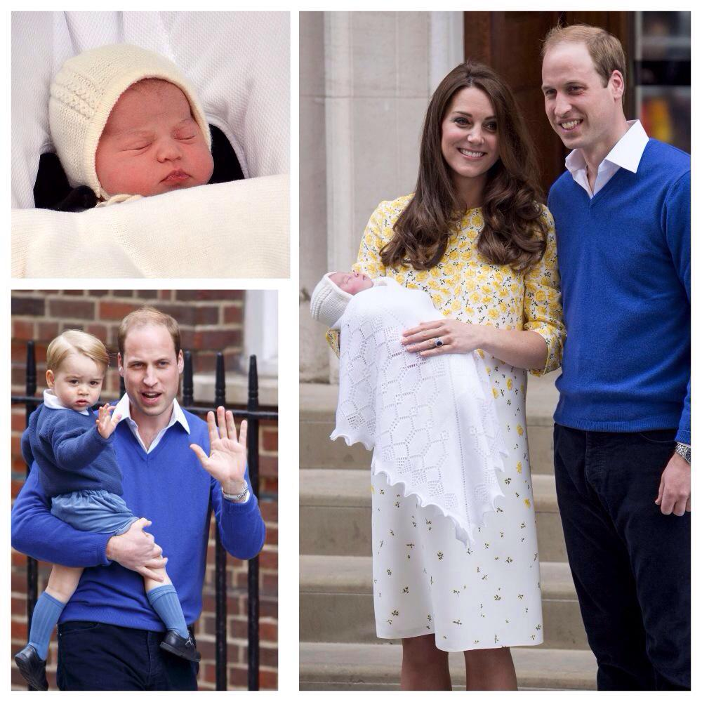 Here she is: The new Princess meets the world. @TheTodayShow 6am. Photos via @WHOmagazine #RoyalBaby http://t.co/h4Fte6nhIU