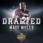 With the 178th pick (6th round) in the 2015 #NFLDraft, the @Patriots select Matt Wells of @HailStateFB!  #HailState http://t.co/PfJDS7TfTf