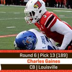 With the 189th pick in the 2015 #NFLDraft, the #Browns select Charles Gaines, CB, Louisville. #BrownsDraft http://t.co/JgHpkO4Oto