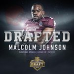 With the 195th pick (round 6) in the 2015 #NFLDraft, the @Browns select Malcolm Johnson of @HailStateFB! #HailState http://t.co/k5ZfedsoA7