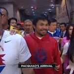 SEÑAL TV   Pacman también llega rodeado de los suyos, sonríe algo más que su rival ▶ http://t.co/K04MsTae3b #MARCAbox http://t.co/gSeG48Soc5