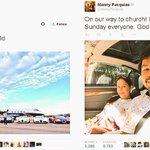 Que mundo tan diferente #Mayweather y #Pacquiao.... Checa sus Twit... Me gusta más el de pacman con su esposa y DIOS http://t.co/dgthpjDG1G