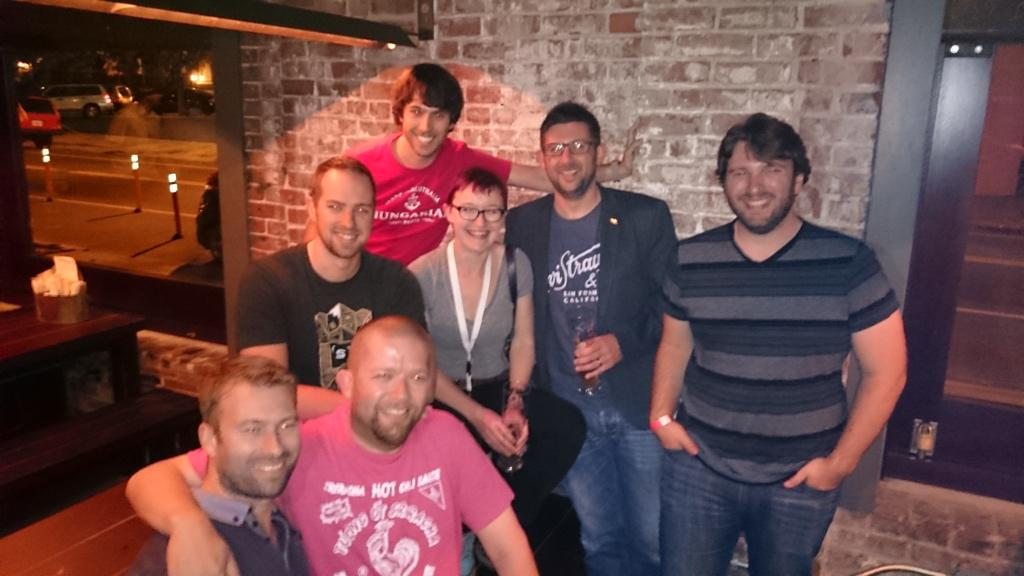 The meeting of the families @PeersConf @statamic  @craftcms  @PerchCMS http://t.co/lCMCFAwZGX