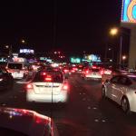 Scene of Traffic at Tropicana / Koval. Still heavy heavy delays on Koval(SB) near Tropicana. @KTNV http://t.co/ODPCNVfSuE