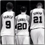 Tony, Manu y Tim: pase lo que pase el básquet les estará eternamente agradecido. QUE VIVA LA MADRE QUE LOS PARIÓ!! http://t.co/wkro5cJJft