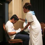 #PeleaDelSiglo Minutos antes de salir al cuadrilátero @MannyPacquiao junto a su madre http://t.co/bmYdZhpUut