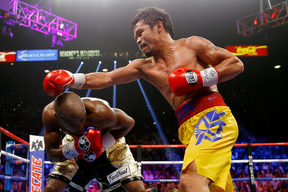 """I thought I won the fight,"" Manny Pacquiao says. ""He didn't do nothing."""