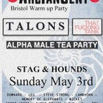 Bristol heads, youre in for a treat today! Free @ATGFestival warm up today at @Stagandhounds in Bristol! http://t.co/UpCGBWyMLQ
