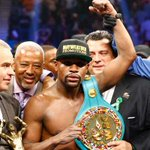 Fight of the Century: Mayweather beats Pacquiao by decision http://t.co/rEBGHNKWKF http://t.co/1Ajr8ftWf3