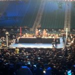 WOW what a night @MGMGrand! Wrapping up a great #MayPac event w/the presser inside the @MGMGrandGarden! #socool http://t.co/3he5uKjqTE
