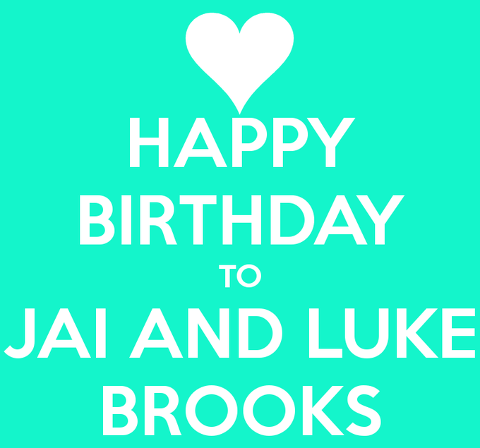 The Twins have Birthday! Say all Happy Birthday! and