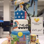 Another day another inaugural to the USA! @TCAirlinesUK @manairport to Miami ready at check in! #TCXinMiami http://t.co/9VEx2PHjMn