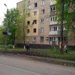 #Донецк - последствия вчерашнего обстрела. НАПРАВЛЕНИЕ ИЗ АВДЕЕВКИ ИЛИ СПАРТАКА!Кто живет рядом,подтвердят. http://t.co/ashgSwKMja