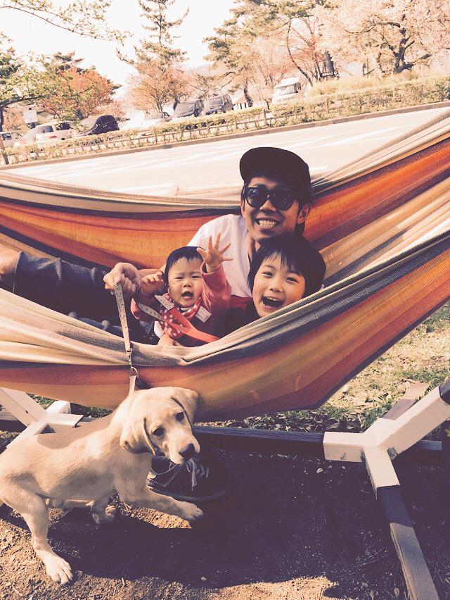 test ツイッターメディア - 昨日はオフだったので山中湖村のハンモックカフェに家族と犬と行ってきたよー。 この犬は何?って思った方、詳しくは5/6放送の 「トコトン掘り下げ隊!生き物にサンキュー」を観てくれよな! https://t.co/RdwiIVX1Rt https://t.co/df7i85UP5t