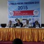 #EU honored to be part of #WPFD2015 celebrations in #Morogoro @UnitedNationsTZ @UNESCO Let Journalism Thrive! http://t.co/2Sg0etXMiI