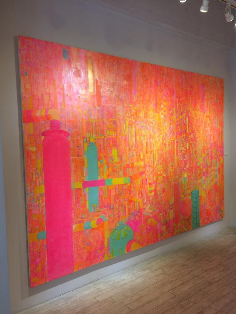 新宿眼科画廊 Sacco Fujishimaさんの個展 工場好きにはたまらん 5月1日〜6日まで http://t.co/RN5Di9wScJ
