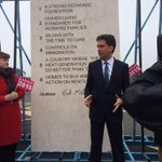 Ed Miliband builds a policy cenotaph. And you wonder why we stopped doing The Thick Of It. http://t.co/hknBAKiJtP