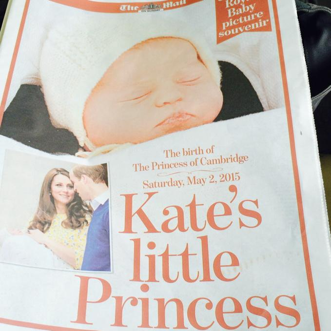 Don't forget your #mailonsunday #royalbaby souvenir special today! http://t.co/CCfeB4wmz4