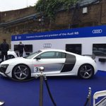 Plenty of activity with @AudiUK outside Stamford Bridge today... #AudiCFC http://t.co/XrahIl1jif