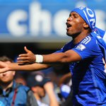FEEL THE LOVE @ChelseaFC striker @didierdrogba celebrates winning the #BPL for the 4th time! http://t.co/ZLlOVOpUNB