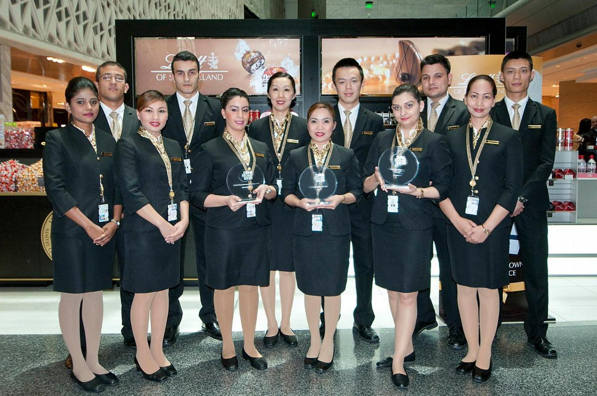 .@QatarDutyFree scores a hat trick at Duty Free News International Global Awards 2015.