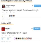 RT @OpIndia_com: To understand why Nepal is saying #GoBackIndianMedia, see how a reporter in Nepal & how Indian MSM report same news http:/…
