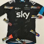 Follow @cnpcycling & RT this to be in with a chance of winning a signed #TdY @TeamSky jersey & £100 of CNP products! http://t.co/bC0hMe84Df