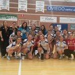 Éstas son las campeonas de División de Honor Plata. Enhorabuena @OviedoBF http://t.co/EGFV03jUDC