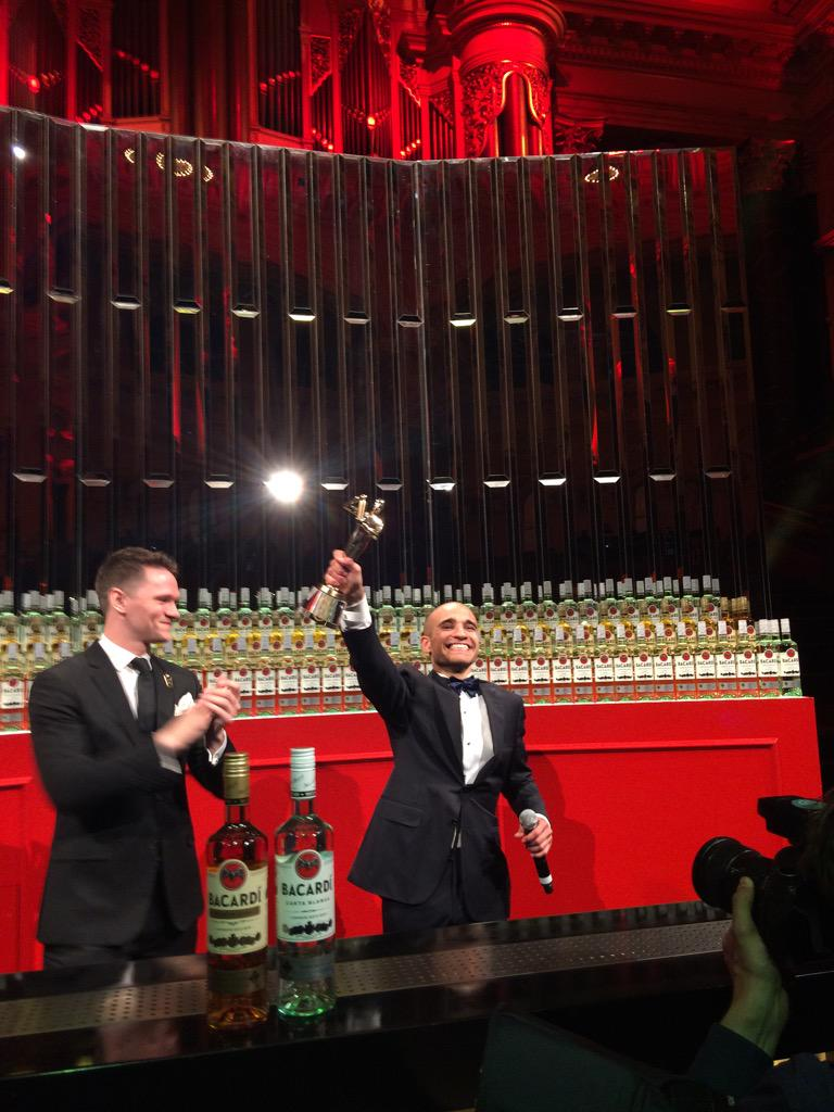 It's done: Franck Dedieu from France wins 2015's #BacardiLegacy global cocktail competition! http://t.co/P49stnO8Jc