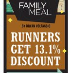 @VoltFamilyMeal is giving 13.1% off entire check today for anyone who participated in #FRF15 @frednewspost http://t.co/6vKPwtk2hP