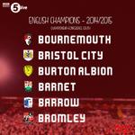 """B is for Champions…"" @afcbournemouth @bcfctweets @burtonalbionfc @BarnetFC @BarrowAFC @bromleyfc http://t.co/cAlLGSu5xv"