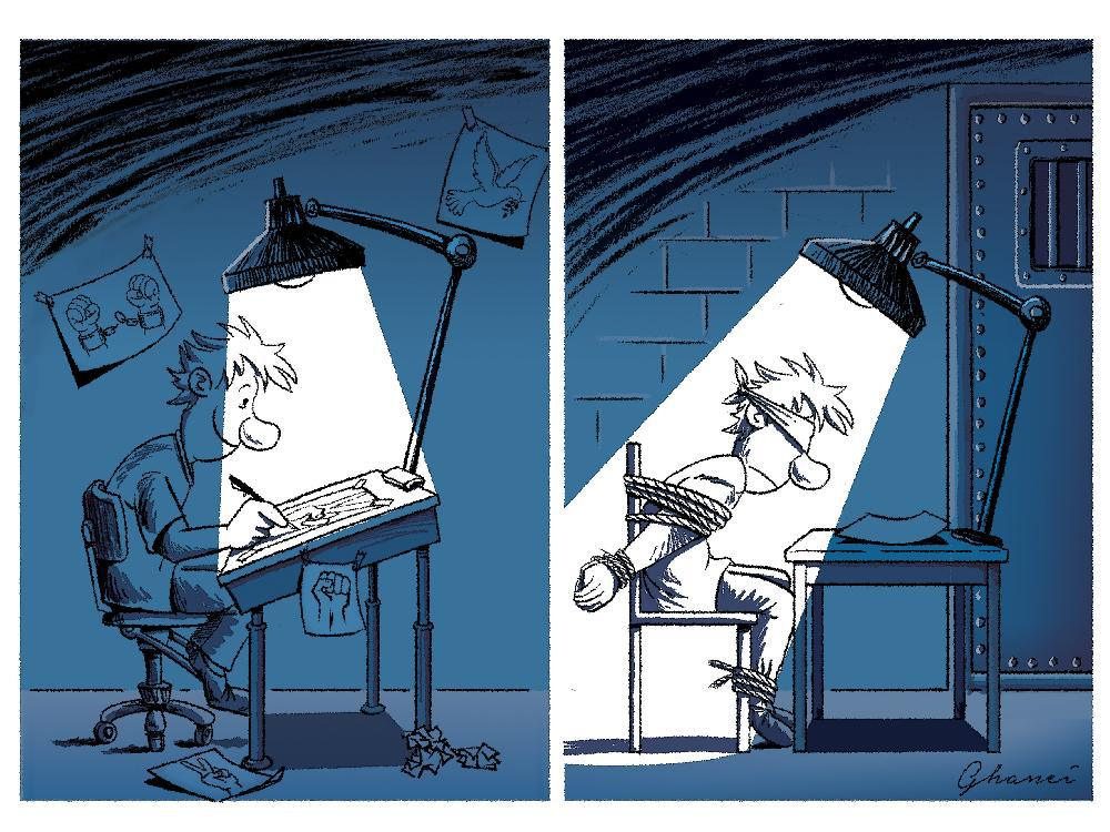 Cartoons honour World #PressFreedom day http://t.co/btZ5S56FBs http://t.co/VSGw7Tm0ts