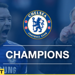 Chelsea are the @premierleague champions. FT Chelsea 1-0 Crystal Palace http://t.co/ajNTjBLMai #cfc http://t.co/F2ohraFsqt