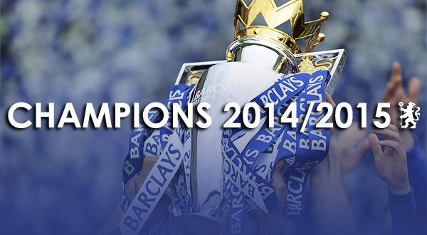 #CHELSEA ARE THE CHAMPIONS OF ENGLAND! http://t.co/shxAKnkcGv