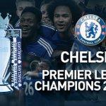 Congratulations to @ChelseaFC - 2014-15 Premier League winners! http://t.co/vJSB0X1xC1 http://t.co/xV7HfQmPb9