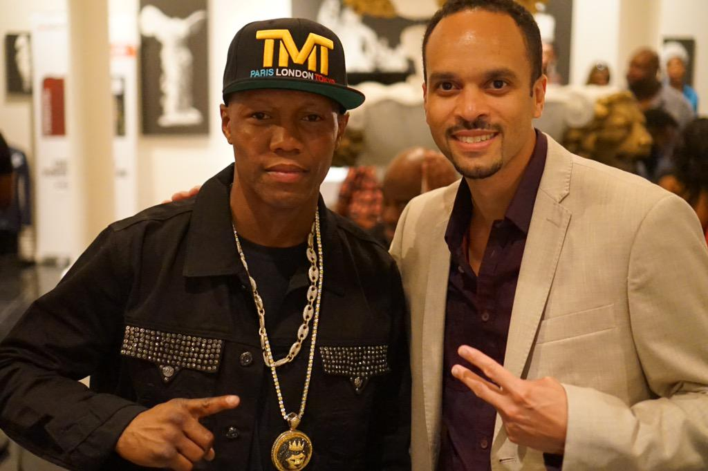 Fight was blah in my opinion, not entertaining but got to see @SUPERJUDAH and snap a pic, #nyc standup! #MayPac http://t.co/hpWHIfvUXO