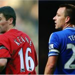 CAPTAIN FANTASTIC John Terry has equalled Roy Keane's record of captaining a side to the #BPL title for a FOURTH time http://t.co/VsdYCue1F0