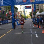 RT @BMOVanMarathon: Vancouver runner, @robbiedxc has won the Half Marathon http://t.co/SxzFs7siyg