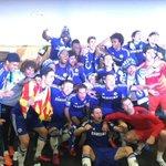"Sedangkan timku sedang terseok seok :( ""@RCsansan: CHAMPIONS!:)RT @oscar8: Champions !!!!!!! http://t.co/fHjoyOcCcP"""